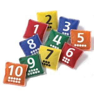 Lær matematik med ærteposer....