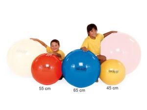 Gymnastikbold 55cm rød fra Legeakademiet